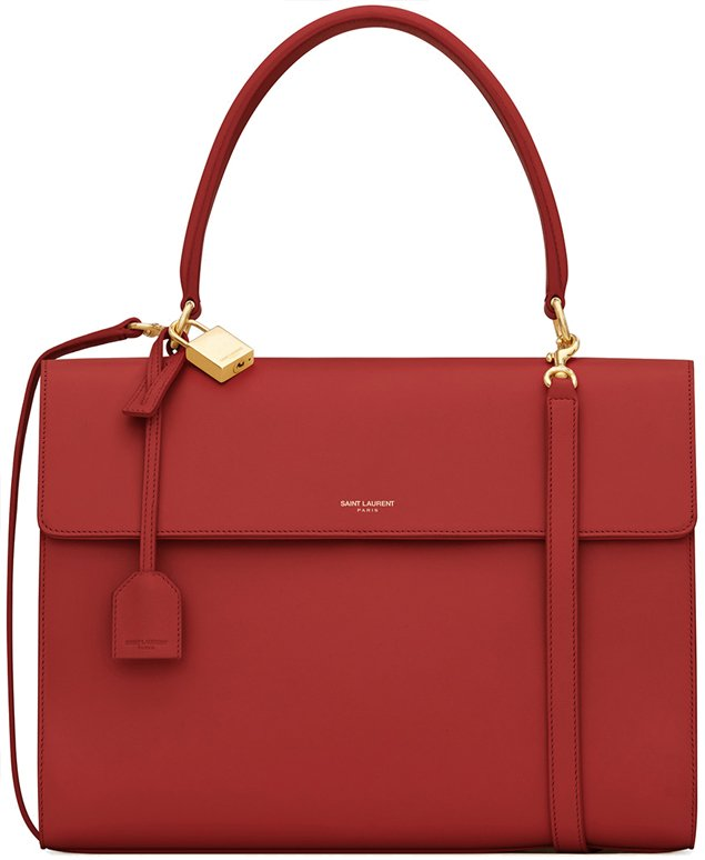 saint-laurent-Moujik-bag-in-red