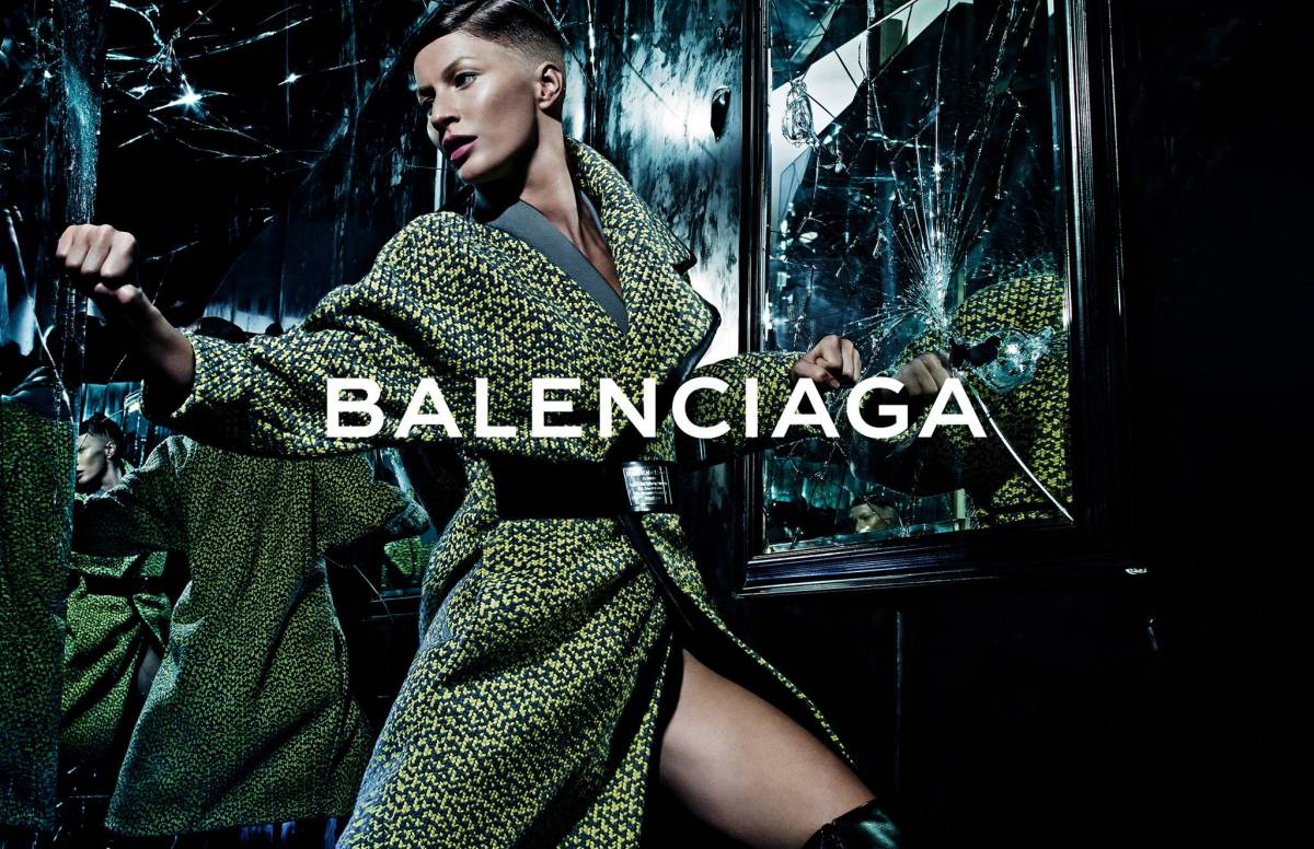 Balenciaga Fall Winter 2014 Ad Campaign Featuring New