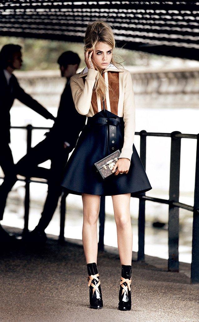 Cara Delevingne For Vogue Us 2014 Bragmybag