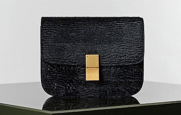 Celine-Black-Stamped-Pony-Box