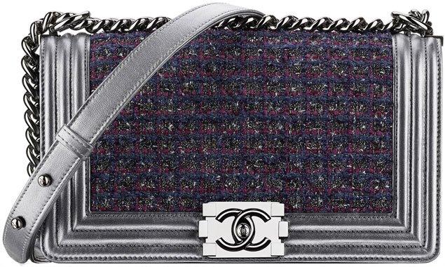 Chanel-Classic-Flap-Bag-in-tweed-and-metallic-lambskin