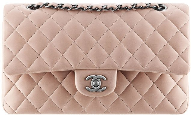 Chanel-Classic-Flap-Bag-lambskin-pink