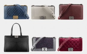 9a598f06dab0 Chanel Boy And Classic Flap Bag Fall Winter 2014 Pre-collection