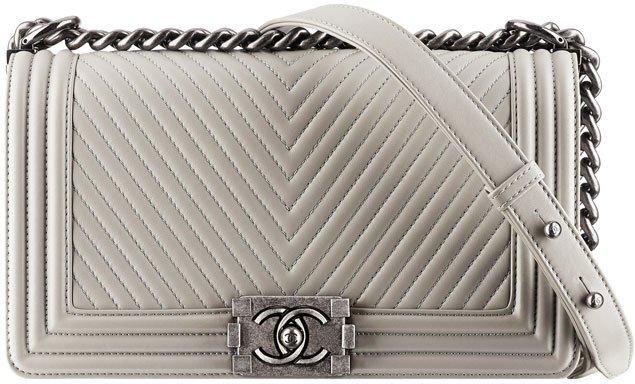 Chanel-boy-chevron-flap-bag-gray