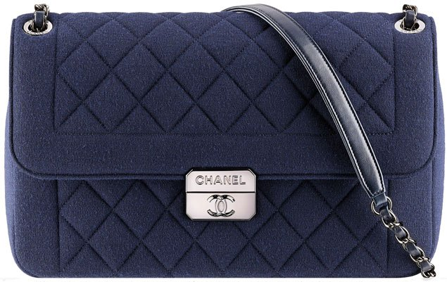 Chanel Jersey Flap Bag with Chanel Flap Bag 2014
