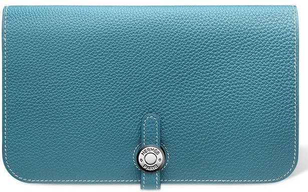 Hermes-Dogon-Wallet-in-Blue-Jean