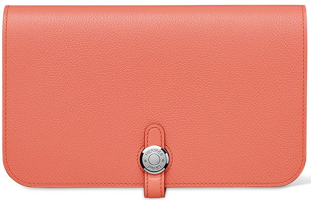 Hermes-Dogon-Wallet-in-Flamingo-pink