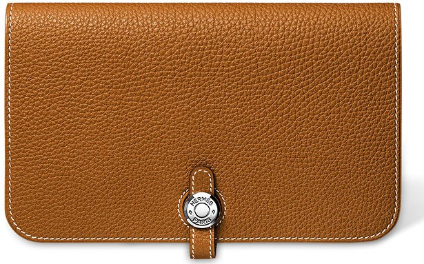 Hermes-Dogon-Wallet-in-Gold