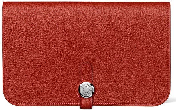 Hermes-Dogon-Wallet-in-vermilion