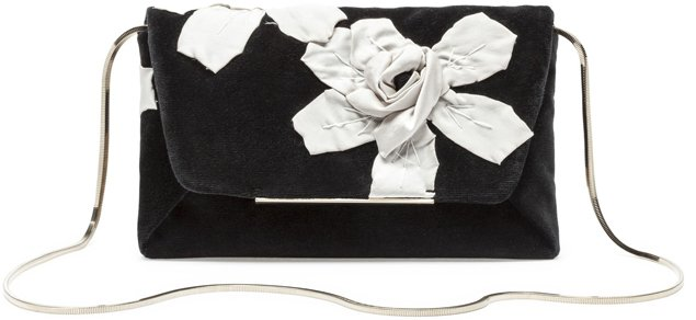 Lanvin-White-Flower-Evening-Clutch