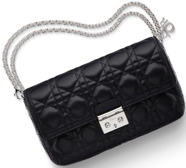 455b5a2ae7 Miss-Dior-Promenade-Pouch-Black-Lambskin