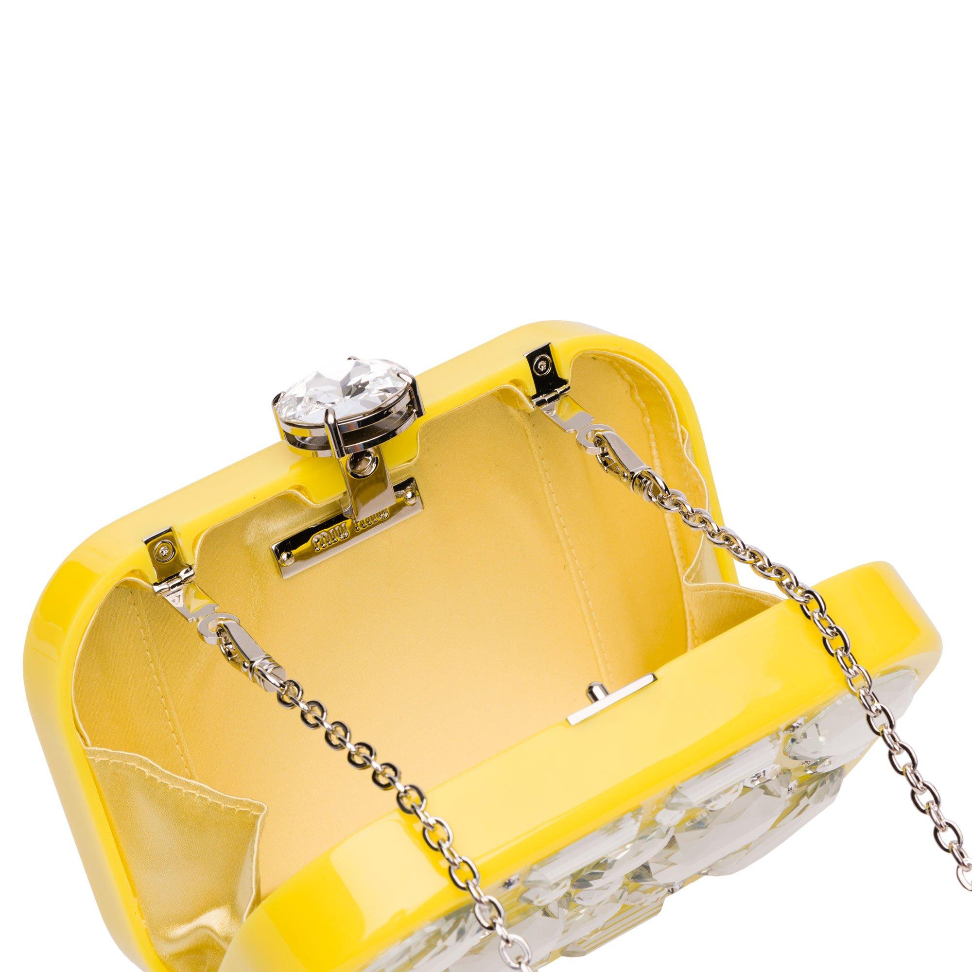 Miu-Miu-Plexiglass-Clutch-yellow-interior