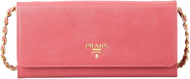 Prada-Saffiano-Wallet-on-a-Chain-Pink