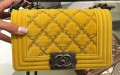 Chanel Velvet Boy Quilted Flap Bag