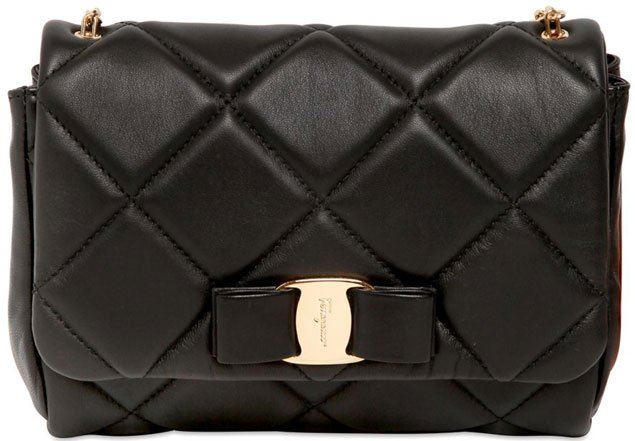 Salvatore-Ferragamo-Quilted-Shoulder-Bag