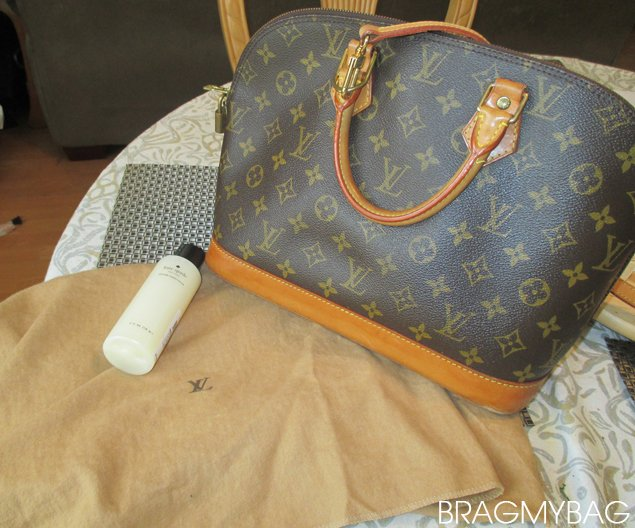 berkin bag price - How To Clean And Care Your Louis Vuitton Alma Bag in Monogram ...