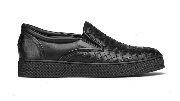 Magasin De Sortie Pour Bottega Veneta Black Classic Intrecciato Slip-On Sneakers Livraison Gratuite Sast Vue Vente Pas Cher Geniue Stockiste Réduction À La Vente btPaw9x