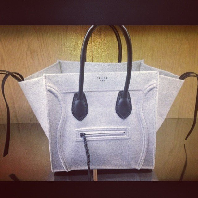 celine bag online fake - celine grey leather handbag