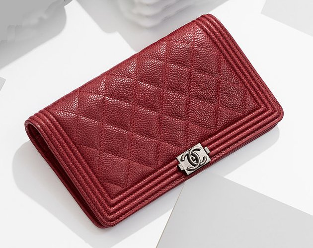 UPDATE: Chanel Boy Wallet was priced €605 in 2012, now it's priced ... Chanel Flap Bag 2014