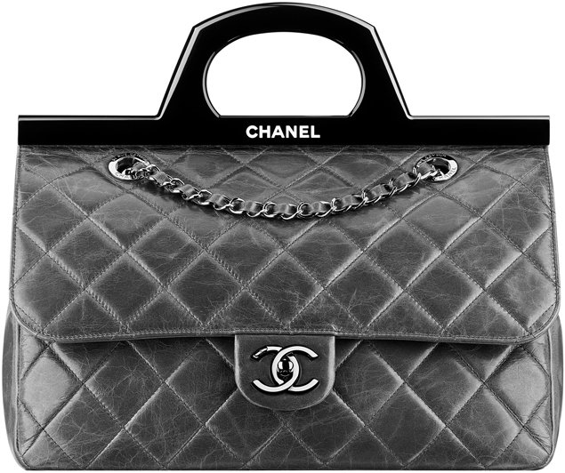 Chanel-Calfskin-Flap-Bag-With-A-Rigid-Handle-2