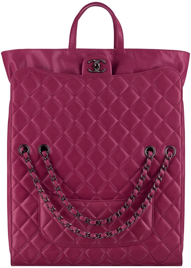 Chanel-Lambskin-Tote-With-Drawstring-Closure-2