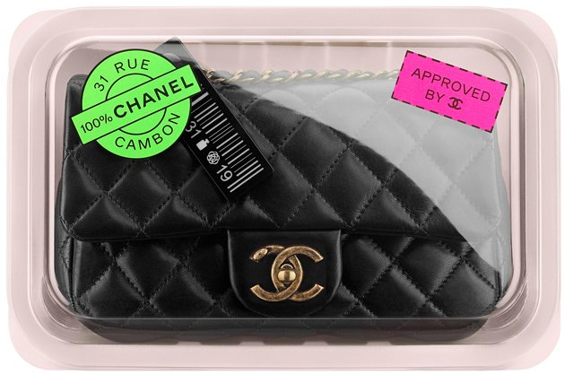 Chanel-Small-Flap-Bag-With-Packaging-Tray-Black