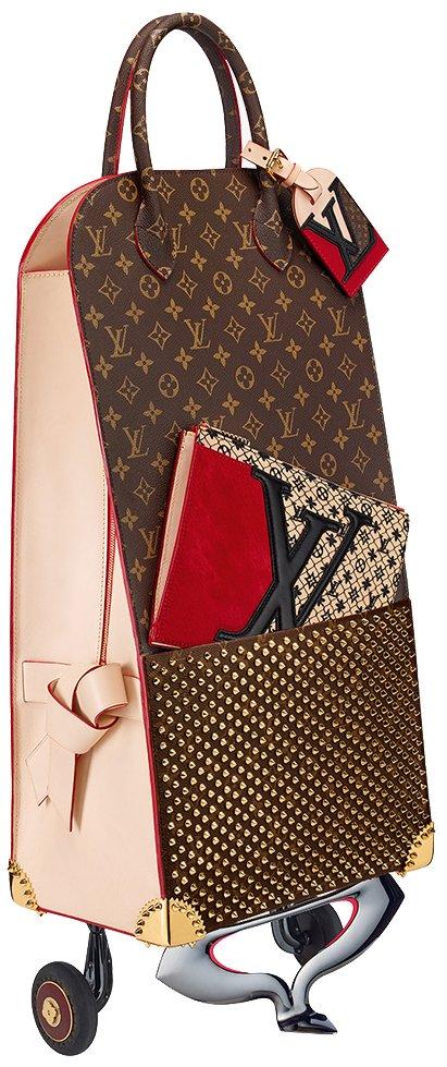 Christian-Louboutin-Monogram-Canvas-Shopping-Trolley