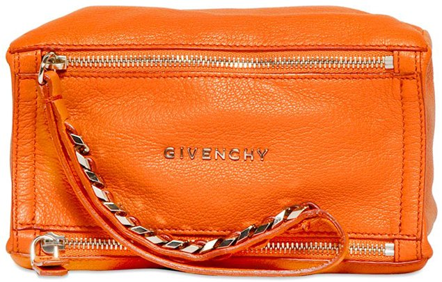 Givenchy-Baby-Pandora-Pouch-Bright-Orange