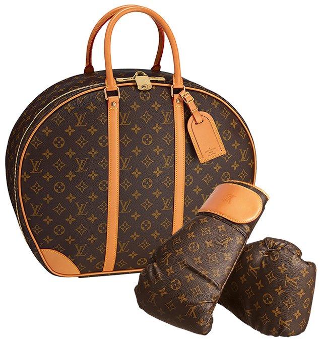 Karl-Lagerfeld-Monogram-Canvas-Punching-Suitcase-