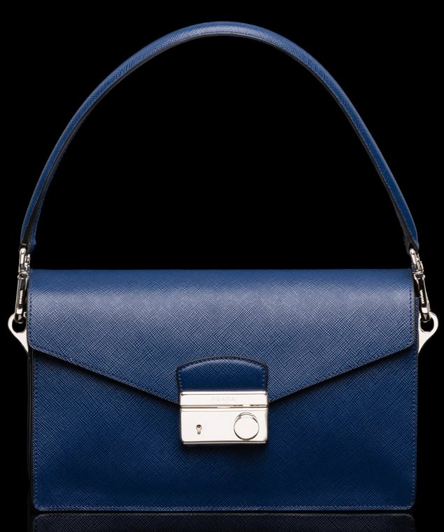 spot fake prada - Prada Saffiano Leather Mini Sound Flap Bag | Bragmybag