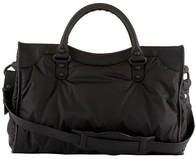 10d4f0cbea40 Balenciaga-Nylon-Classic-City-Bag