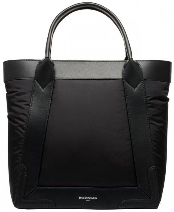 Balenciaga-Nylon-Navy-Cabas-S-Bag-2