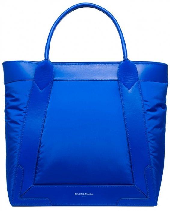 Balenciaga-Nylon-Navy-Cabas-S-Bag