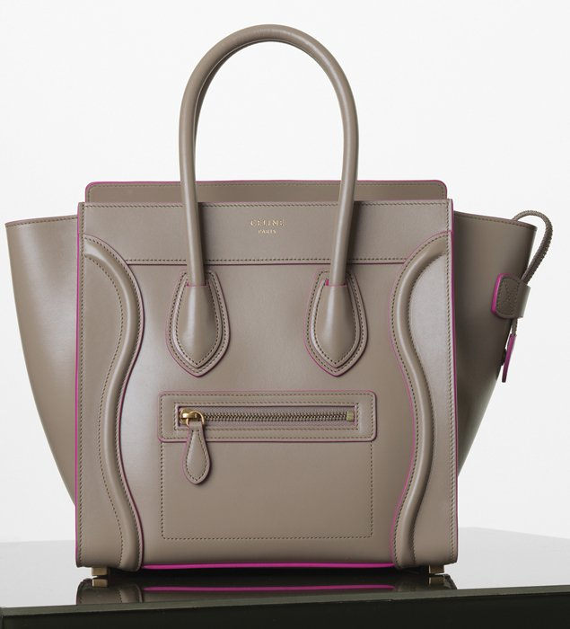Celine Mini Luggage Tote For Winter 2014 Collection | Bragmybag