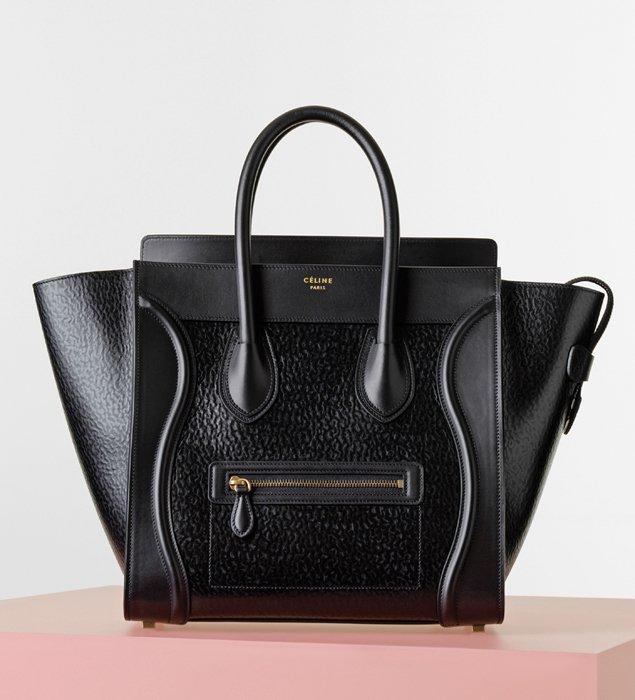 celine mini luggage handbag price