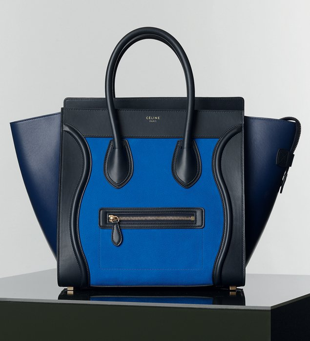 celine luggage tote green - Celine Mini Luggage Tote For Winter 2014 Collection | Bragmybag