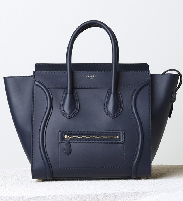 where can i buy celine shoes online - Celine Mini Luggage Tote For Winter 2014 Collection | Bragmybag
