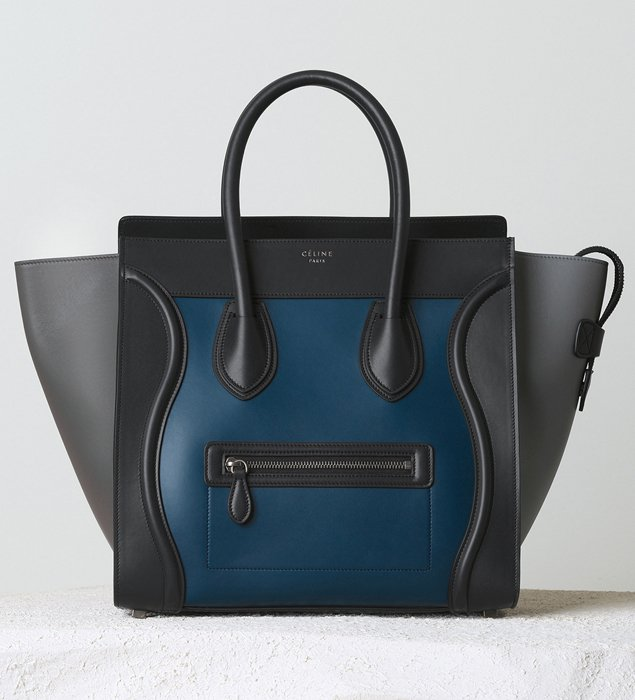 sac cabas celine - Celine Mini Luggage Tote For Winter 2014 Collection | Bragmybag
