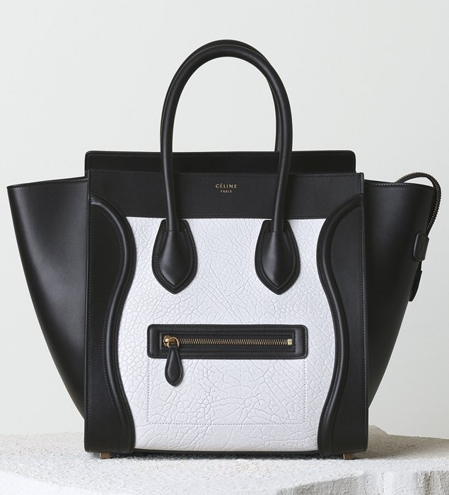 celine purses online - Celine Mini Luggage Tote For Winter 2014 Collection | Bragmybag