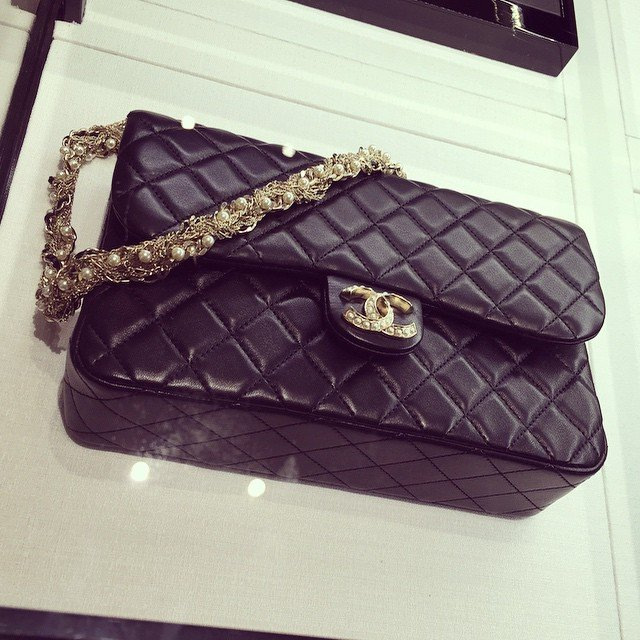 da3ae344abe1a4 Chanel Westminster Flap Bag With Pearls | Bragmybag