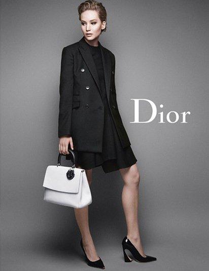 Jennifer Lawrence Presenting Be Dior Flap Bag Bragmybag
