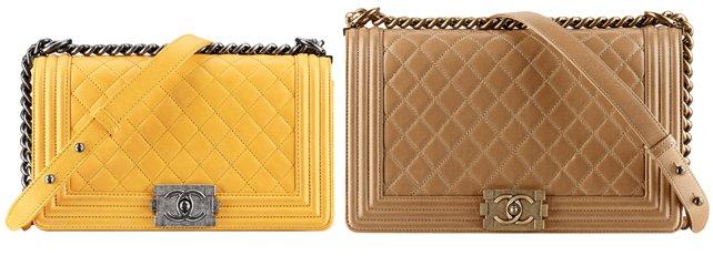 Chanel boy bag sizes