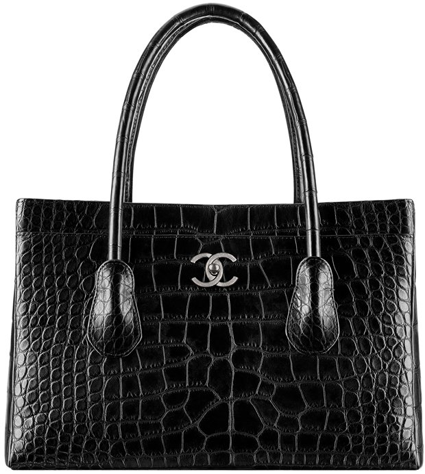 Chanel-Large-Alligator-Shopping-Tote