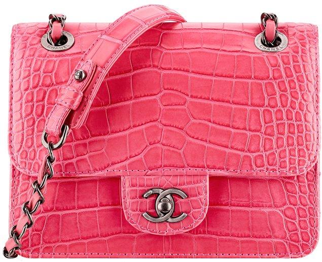 Chanel-Mini-Alligator-Calfskin-Flap-Bag