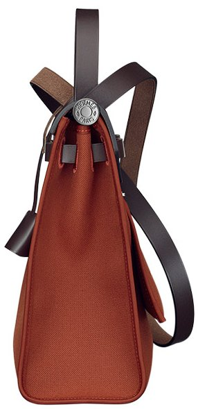 Hermes Herbag Zip Bag in Chocolate Brown | Bragmybag