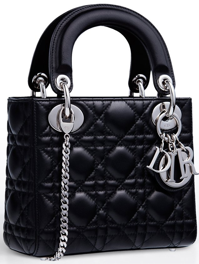 Small Lady Dior Tote With Chains Bragmybag