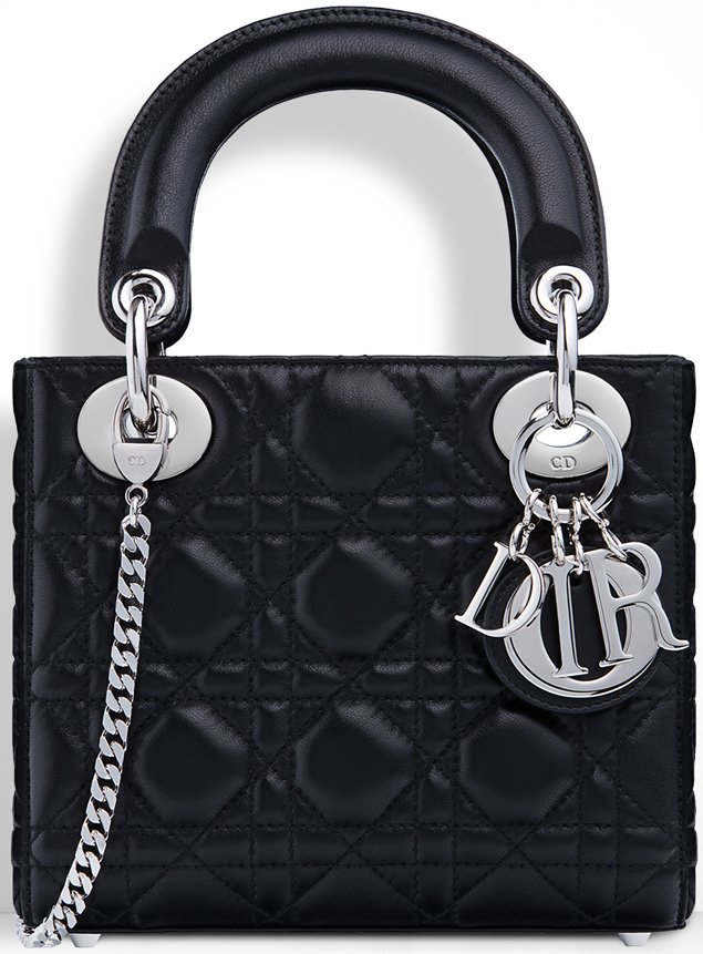 Small Lady Dior Tote With Chains