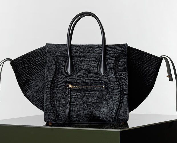 celine phantom python leather