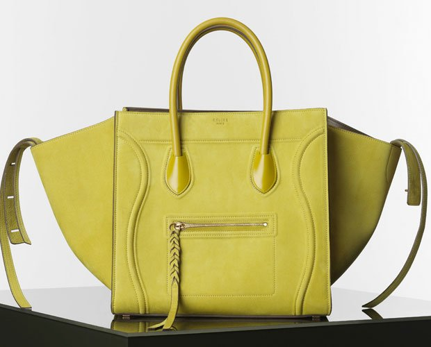 Celine-Luggage-Phantom-Handbag-in-Nubuck-Calfskin