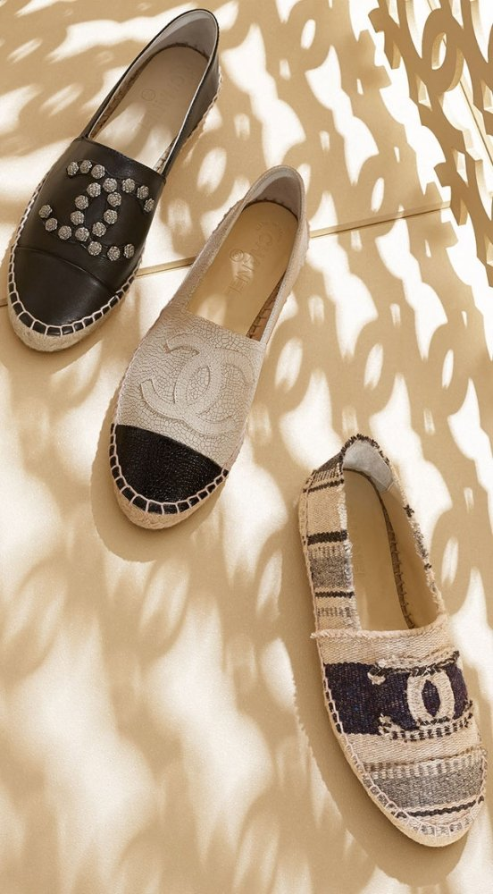Espadrilles chanel celebrity bags